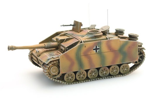 Artitec 387.48-CM WM StuG III G 1943 WWII 1:87 Camouflage