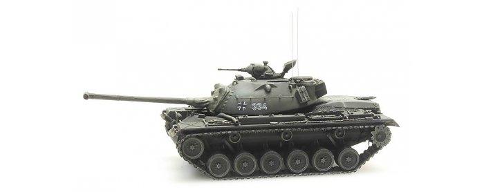 Artitec 6870055 Panzer M48A2 Gelboliv Bundeswehr  1:87
