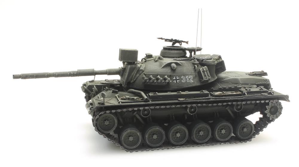 Artitec 6870058 Panzer M48A2GA2 Gelboliv Bundeswehr 1:87