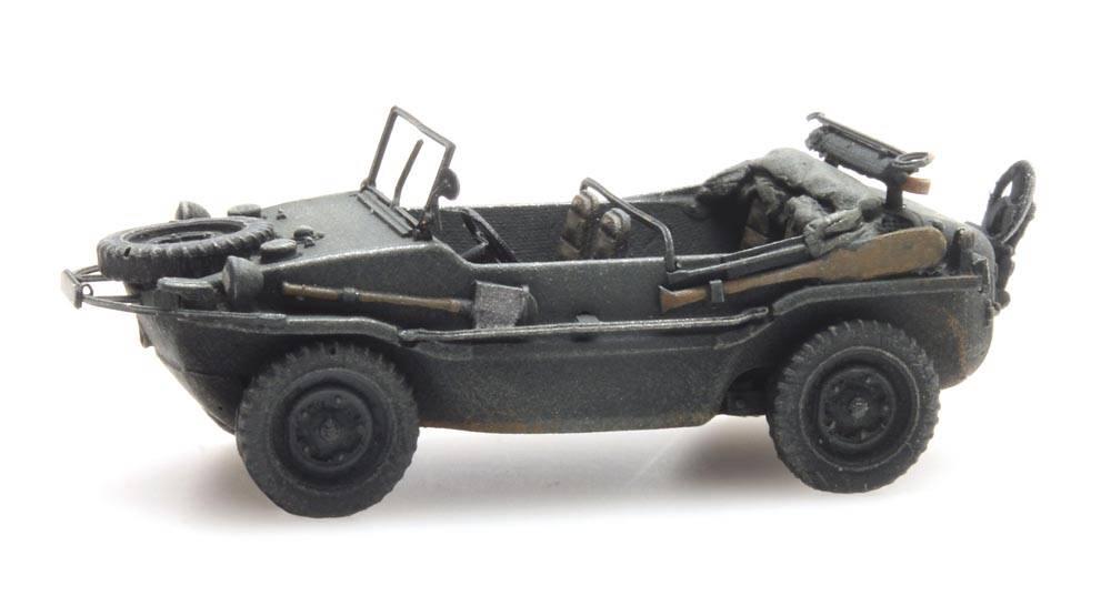 Artitec 6870073 Schwimmwagen VW 166 K2s Dunkelgrau Wehrmacht 1:87