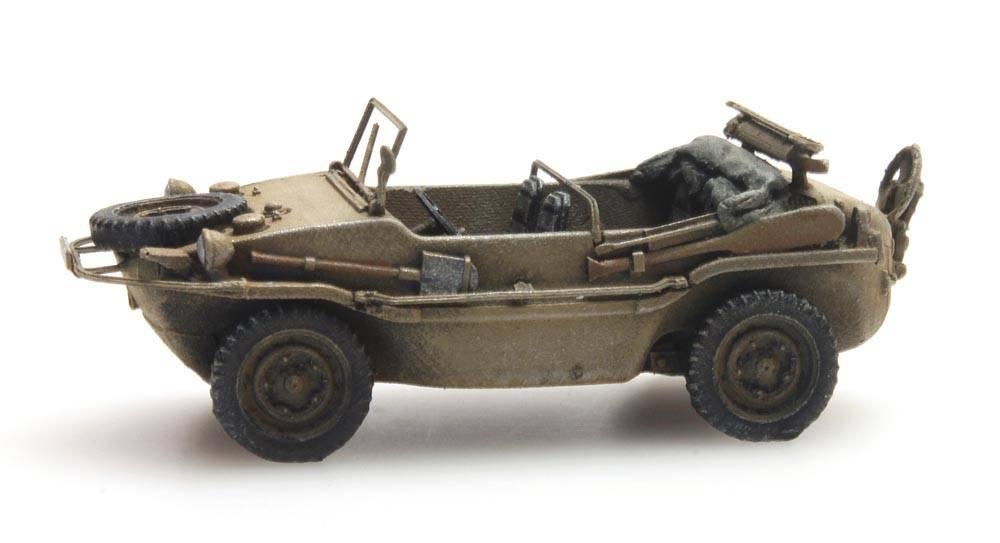 Artitec 6870074 Schwimmwagen VW 166 K2s Dunkelgelb Wehrmacht 1:87