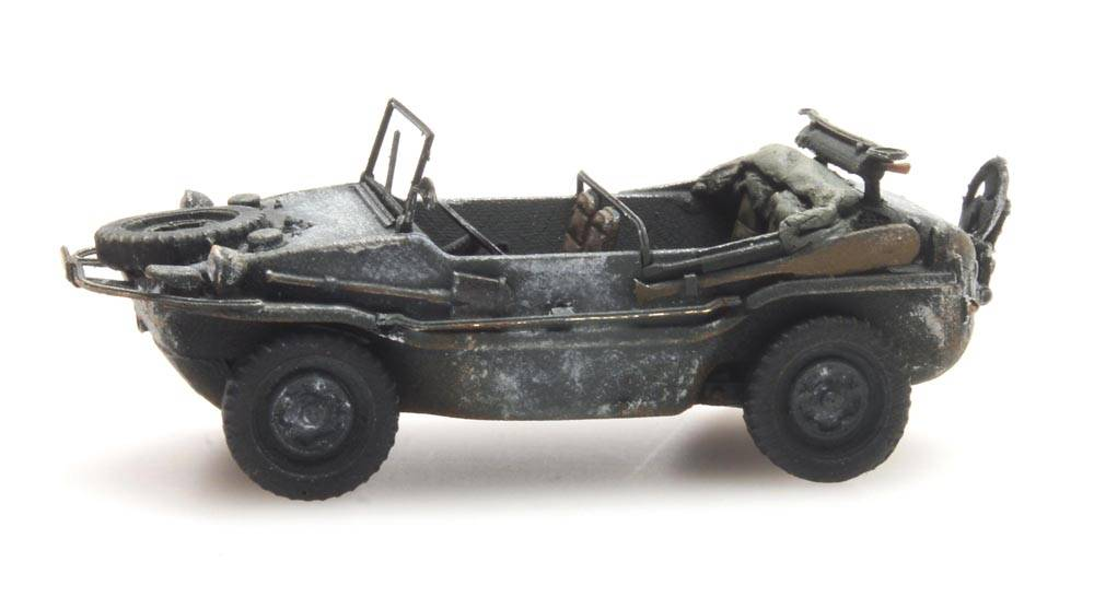 Artitec 6870076 Schwimmwagen VW 166 K2s wintertarn Wehrmacht 1:87