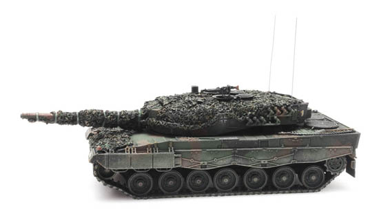 Artitec 6870110 KPZ Leopard 2A4 Bundeswehr Flecktarn Gefechtsklar 1:87