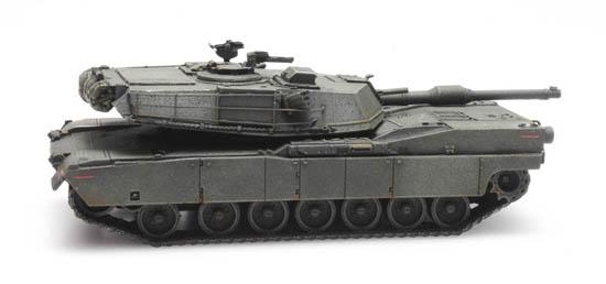 Artitec 6870138 US KPZ M1 Abrams green Bahnverladung 1:87