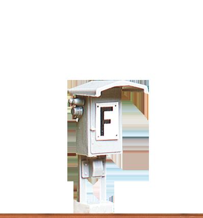 BRAWA 2650 H0 Signalfernsprecher Fertigmodell