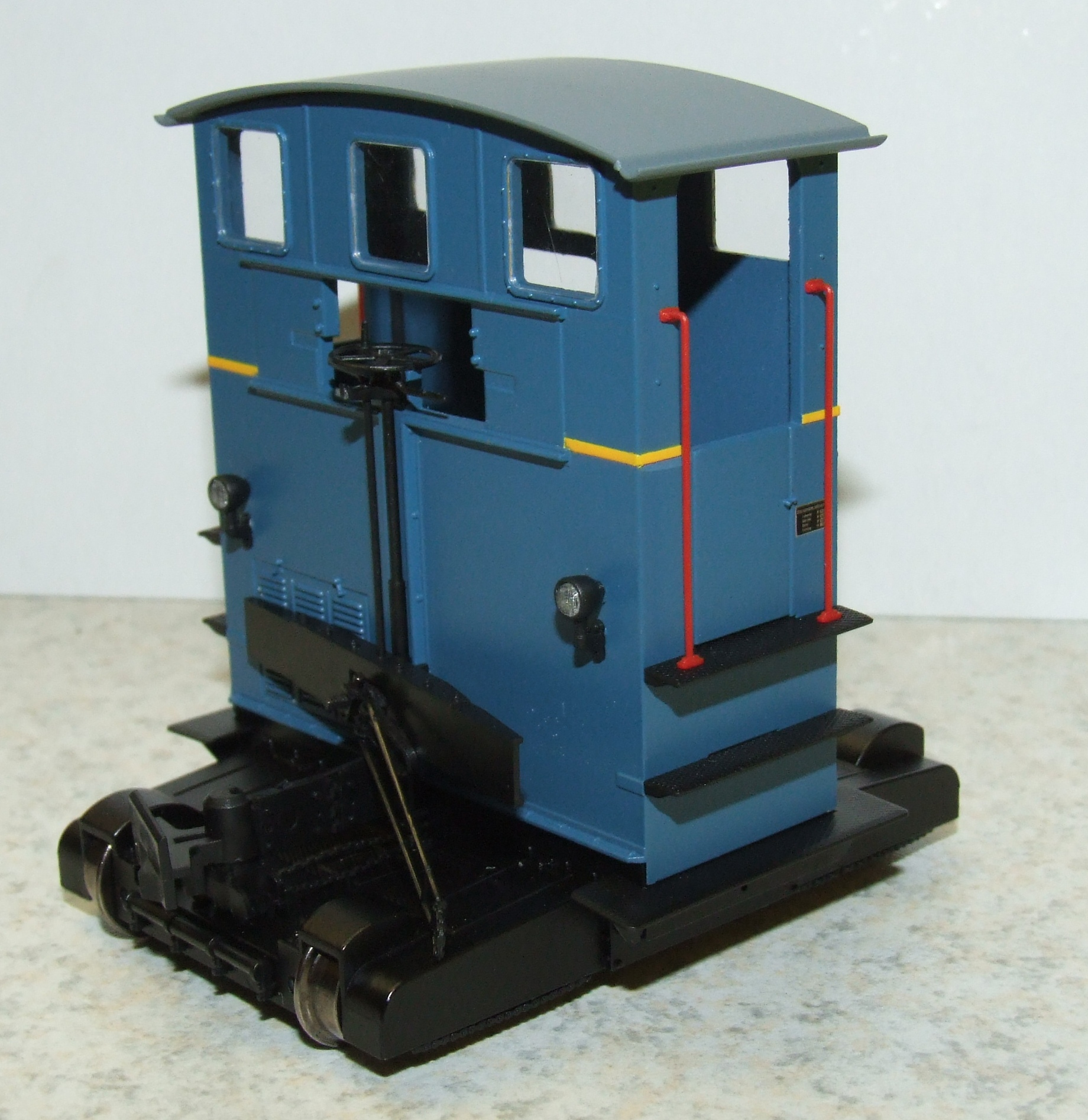BRAWA 31001 Spur 0 Breuer Rangiertraktor Lokomotor blau III