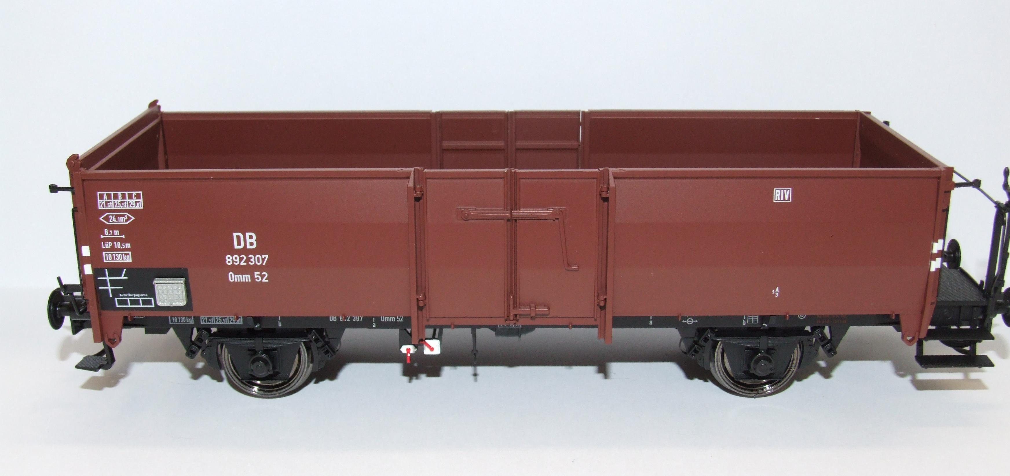 BRAWA 37009 Spur 0 Güterwagen Omm52 DB EP III