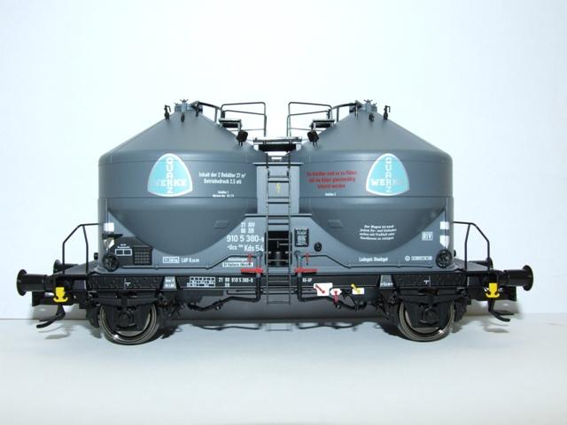 BRAWA 37110 Spur 0 Staubbehälterwagen Ucs 908 Quarzwerke