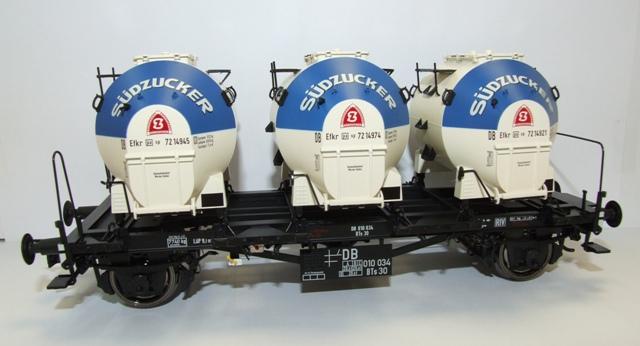 BRAWA 37156 Spur 0 Behälterwagen BTs30 Südzucker DB III