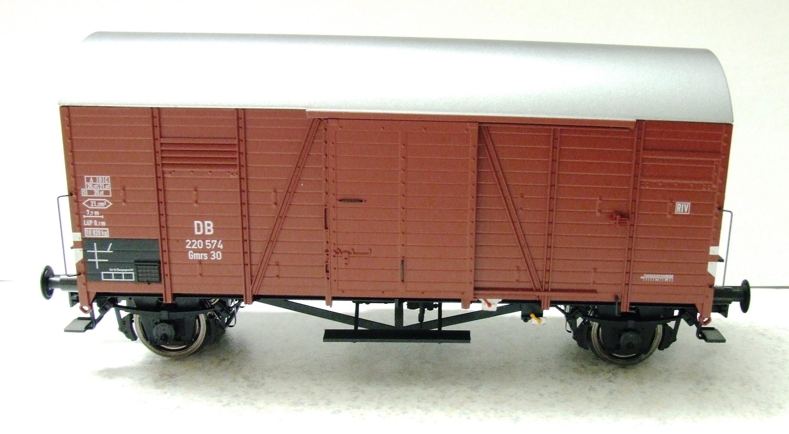 BRAWA 37185 Spur 0 Güterwagen Oppeln Gmrs DB EP III