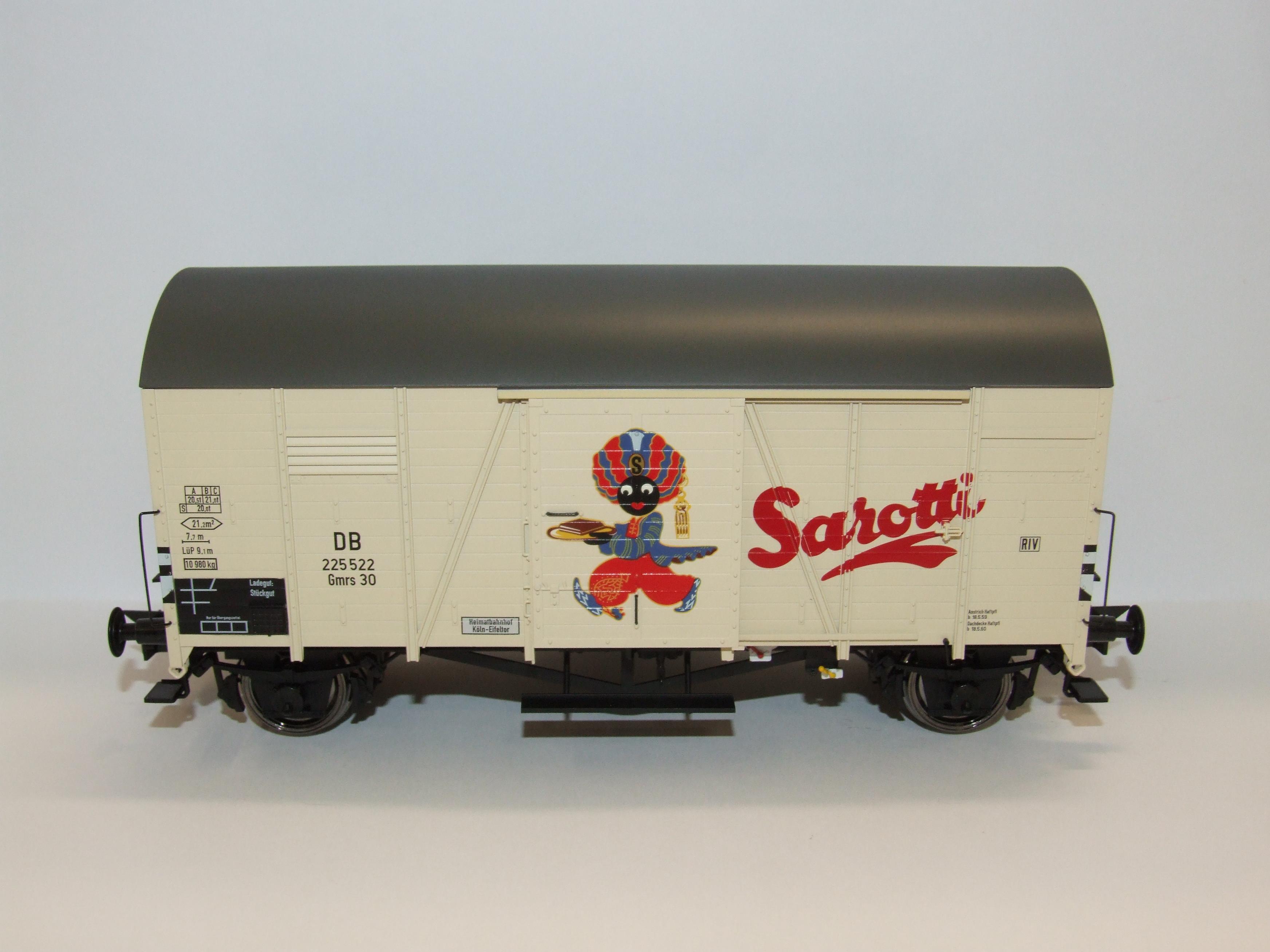 BRAWA 37190 Spur 0 Güterwagen Oppeln DB Sarotti EP III