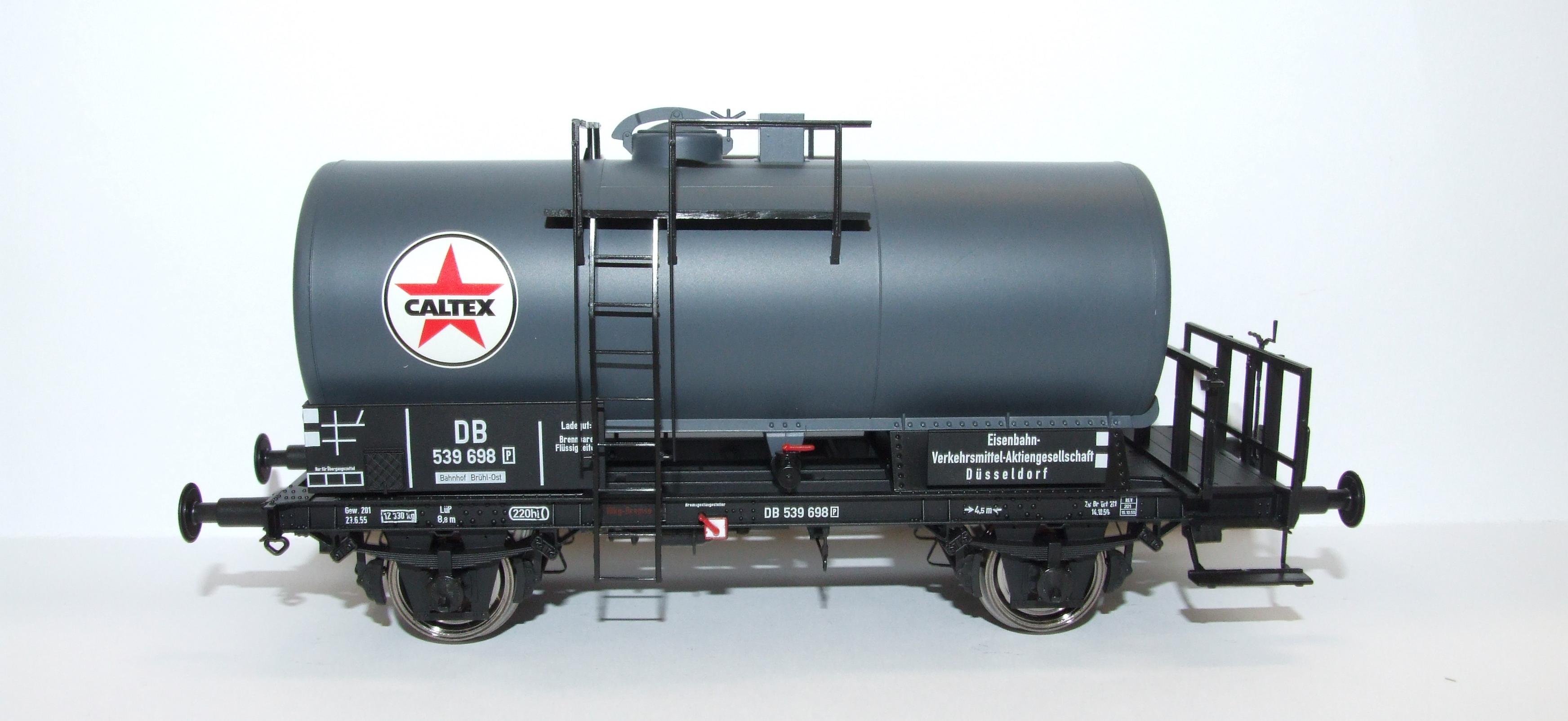 BRAWA 37253 Spur  0 Kesselwagen 2-Achser DB,EP III, Caltex