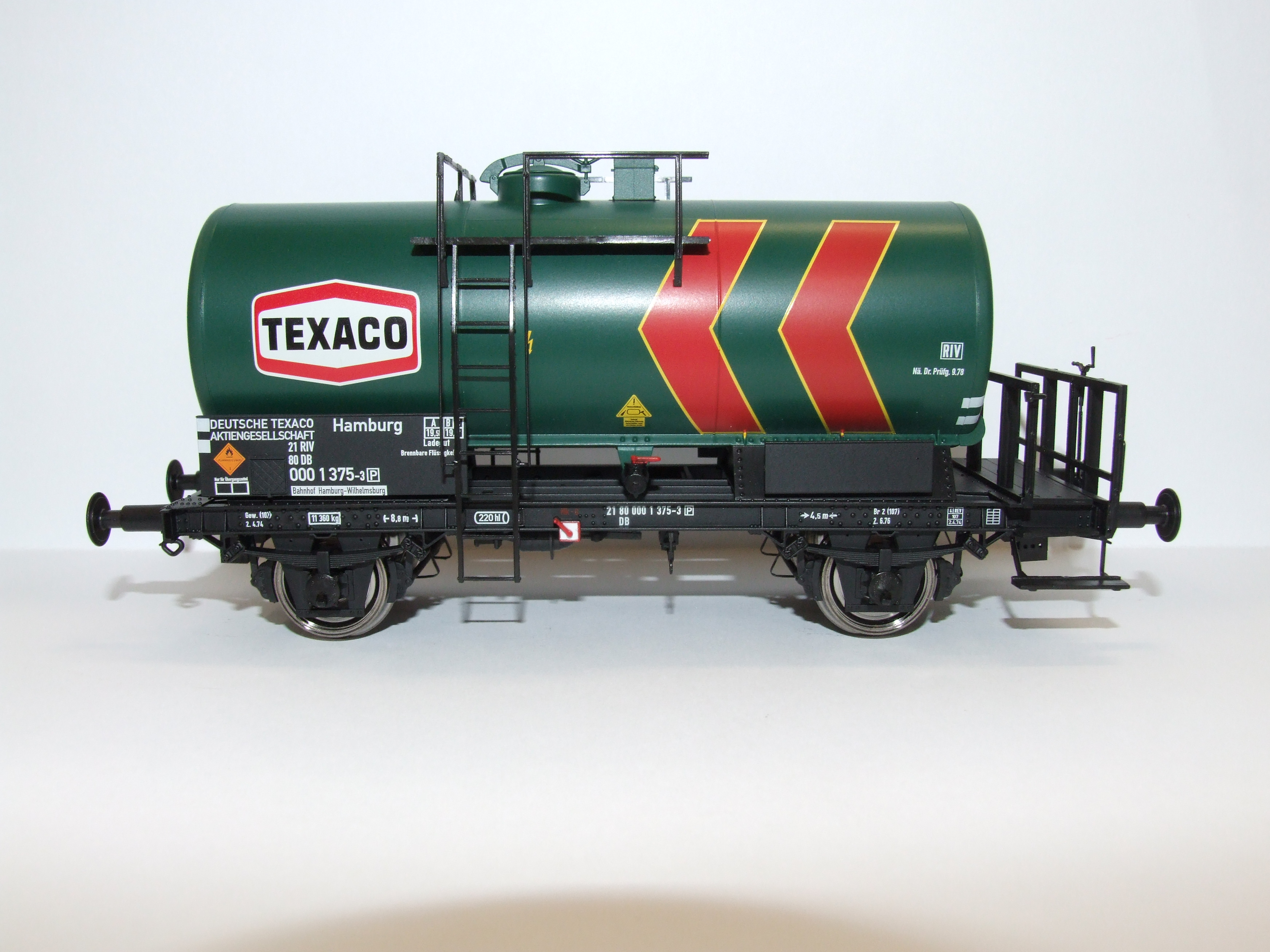 BRAWA 37255 Spur 0 Kesselwagen 2 Achser Texaco DB EP IV