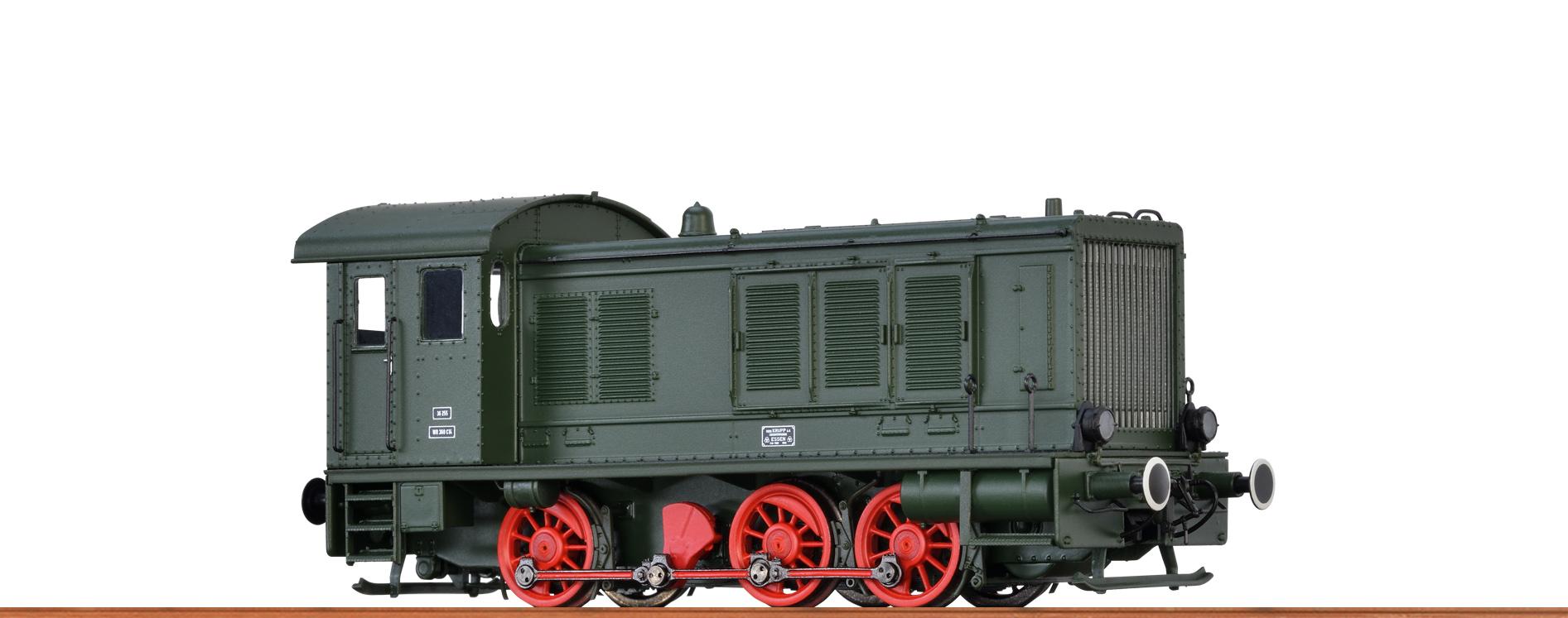 BRAWA 41602 Spur H0 Diesellok WR360 DR, II, DC EXTRA mit Sound