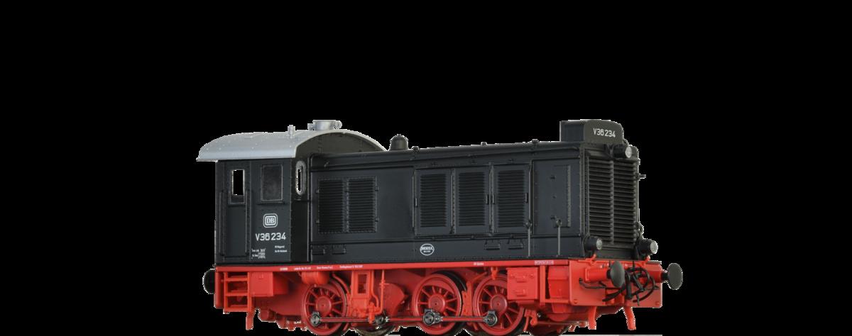 BRAWA 41606 Spur H0 Diesellok V36 DB, III, DC EXTRA