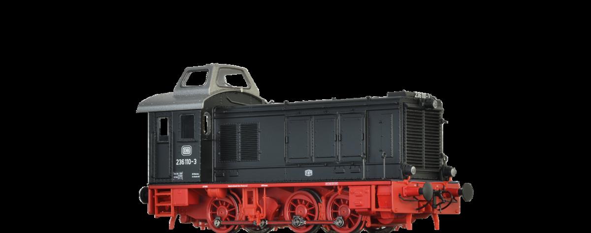 BRAWA 41608 Spur H0 Diesellok 236 DB, IV, DC An BASIC+