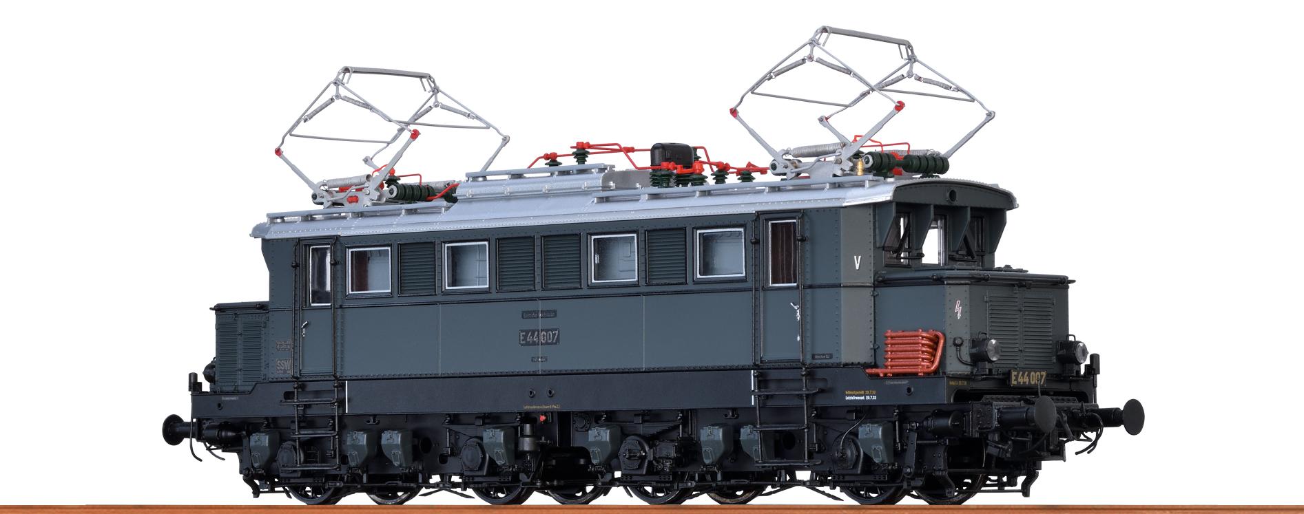 BRAWA 43402 Spur H0 E-Lok E44 DRB, II, DC Dig EXTRA