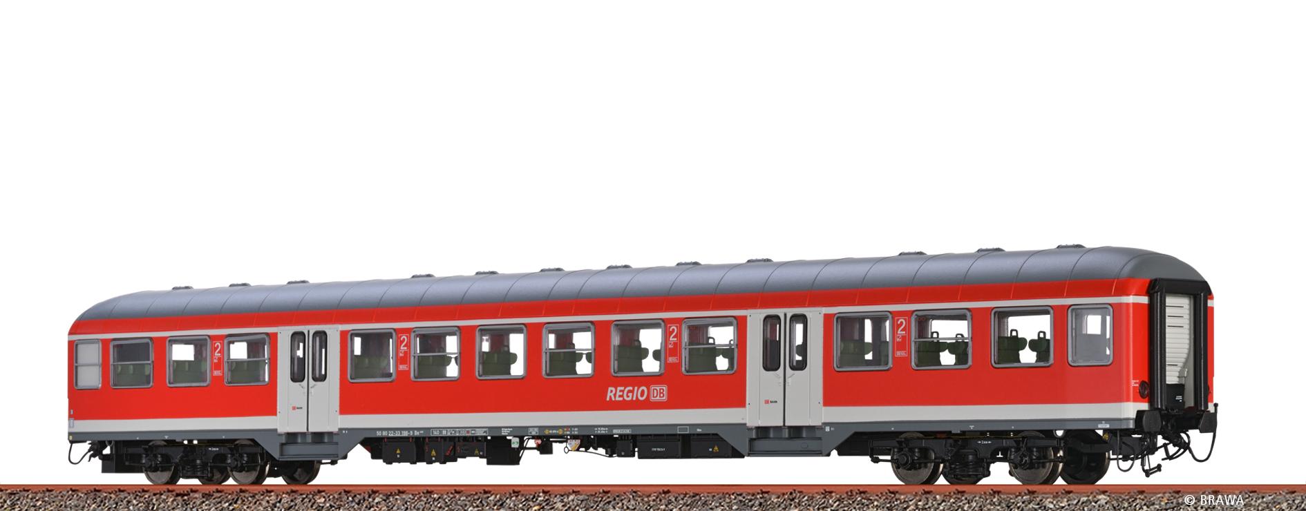 BRAWA 46548 Spur H0 Personenwagen Bn 440 DB, V DC