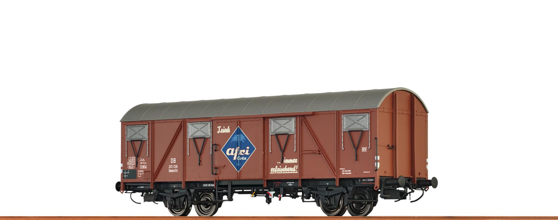 BRAWA 47272 Spur H0 Güterwagen Glmhs 50 DB, III, Afri Cola DC