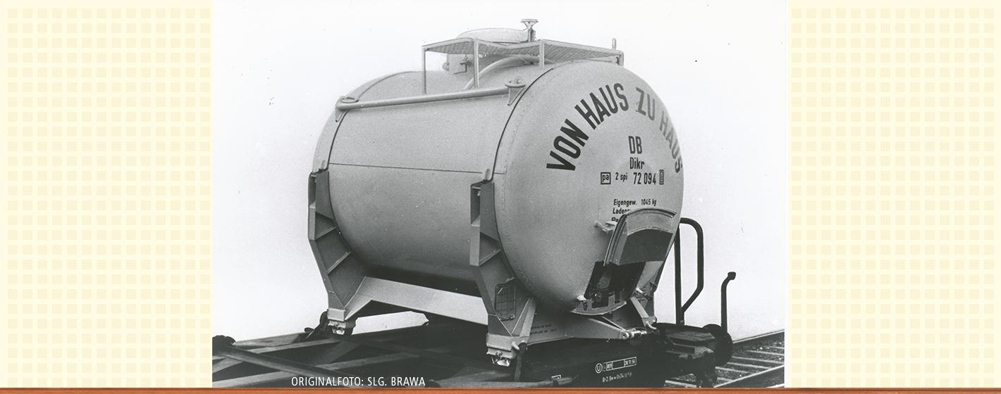VO BRAWA 49123 Spur H0 Behälterwagen BTmms58 Didkr603 DB, III