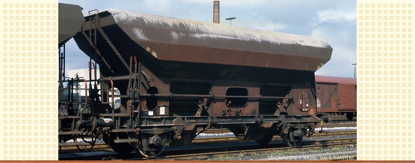 VO BRAWA 49504 Spur H0 Güterwagen Eds-u Ommstu DR, IV [3]
