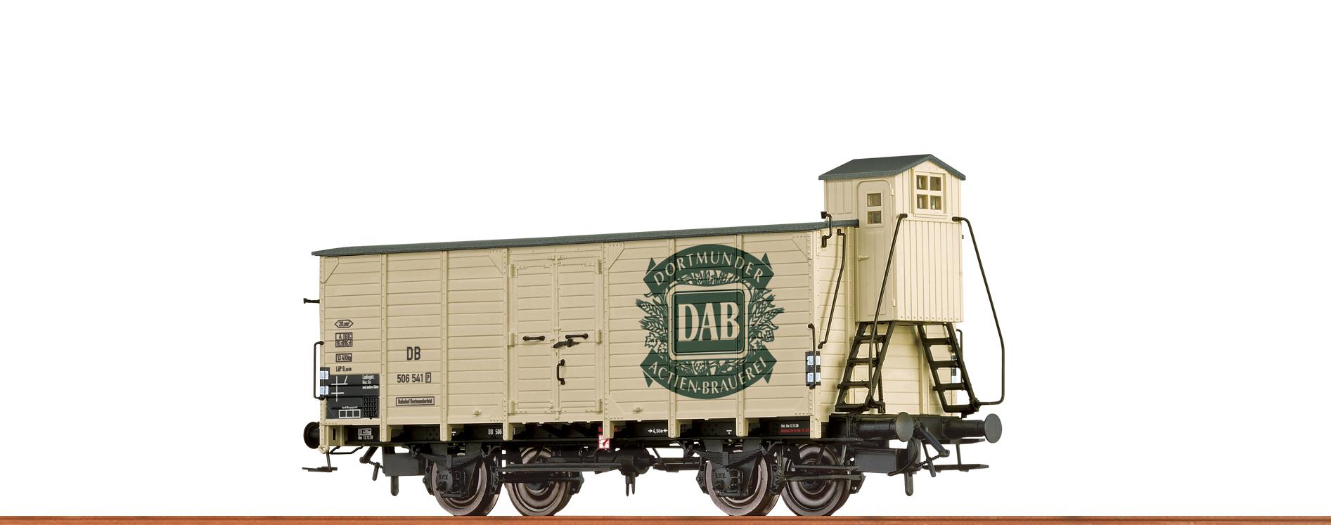 BRAWA 67476 Spur N Bierwagen G10 DB, III, DAB