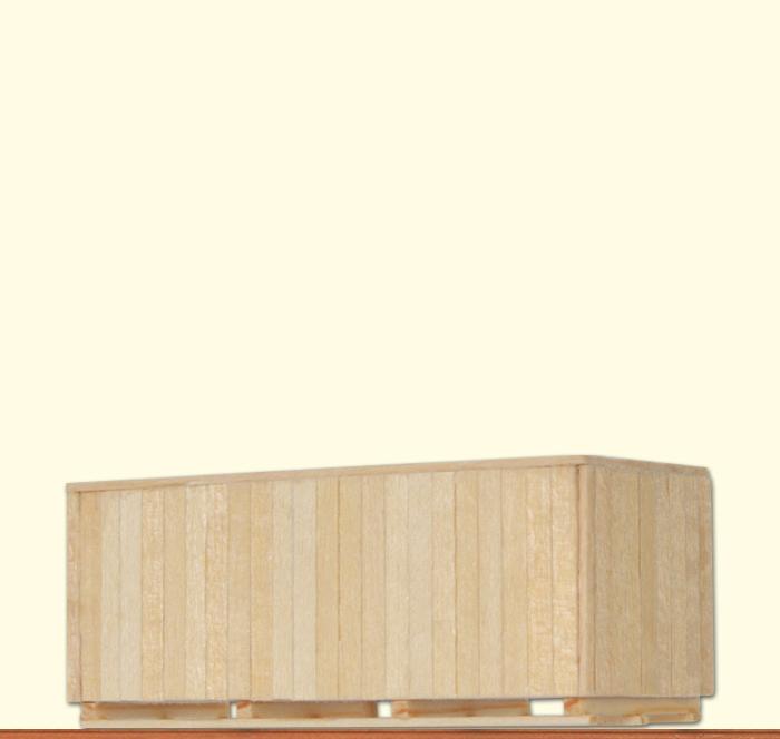 BRAWA 93712 Spur 0 Ladegut Holzkiste DB, III [einzeln]