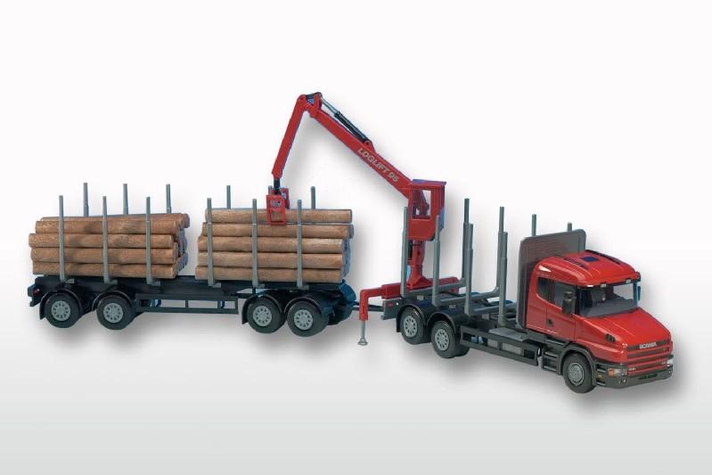 EMEK 71405 Scania T Holz-Haengerzug 1 25  | Zu einem niedrigeren Preis