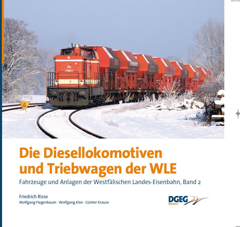 Buch Die Diesellokomotiven und Triebwagen der WLE