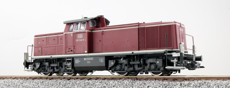 ESU 31233 Diesellok, H0, 290 048, DB, Altrot, Ep. IV, Vorbildzustand um 1971