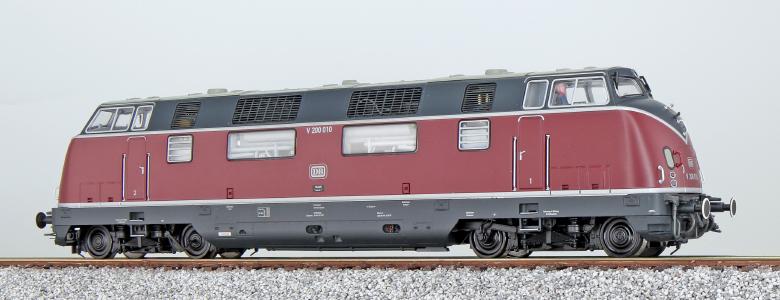 ESU 31333 Diesellok, H0, V200 010, altrot, Sound+Rauch, DB Keks DC/AC