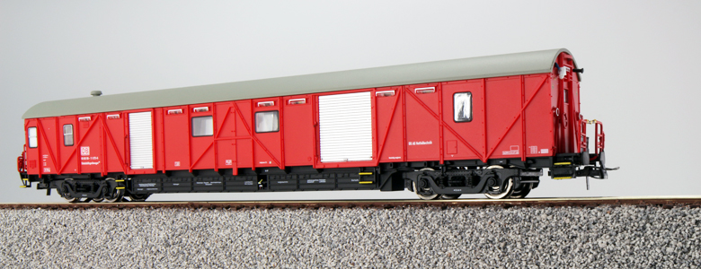 ESU 36031 Hilfsgerätewagen, H0, DB EHG 388, verkehrsrot, Ep V/VI, Mess-Elektr