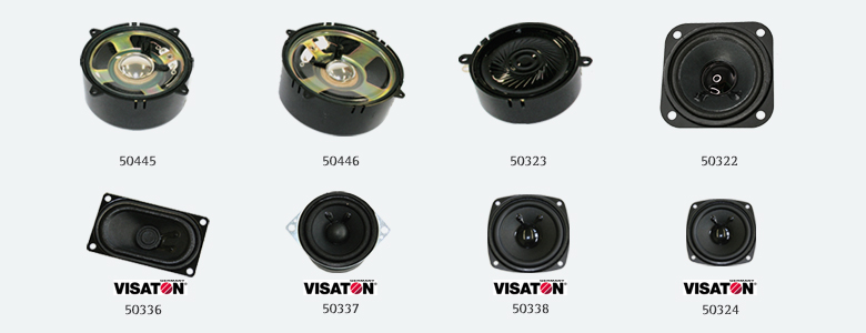ESU Lautsprecher 50324 für LOKSOUND Visaton FRS 7, 70mm, rund, 8 Ohm
