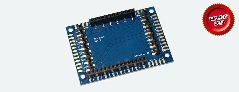 ESU 51971 Adapterplatine für LokSound XL V4.0 mit Stiftleisten 54599