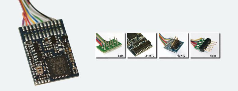 ESU Decoder 54614 DCC Selectrix Motorola 21 polig V4.0