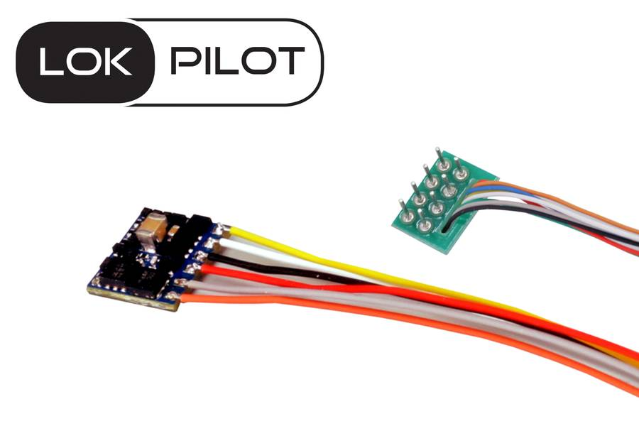 ESU 59810 LokPilot 5 micro DCC/MM/SX 8-pin NEM652 Retail Spurweite N TT