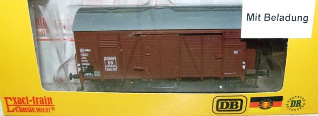 Exact-train EX20265 DB Oppeln mit Beladung (Bremserhaus/Gleitlager) Epoche 3