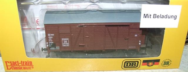 Exact-train EX20266 DB Oppeln mit Beladung Epoche 3