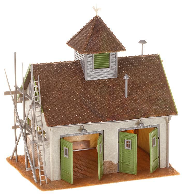 Faller H0 130268 Bausatz Ländliches Feuerwehrhaus