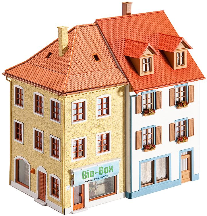 Faller H0 130496 Bausatz 2 Kleinstadthäuser
