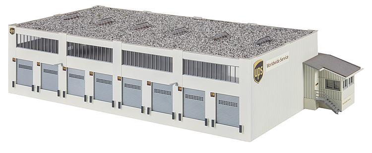 Faller 130785 Spur H0 Bausatz Logistikhalle UPS