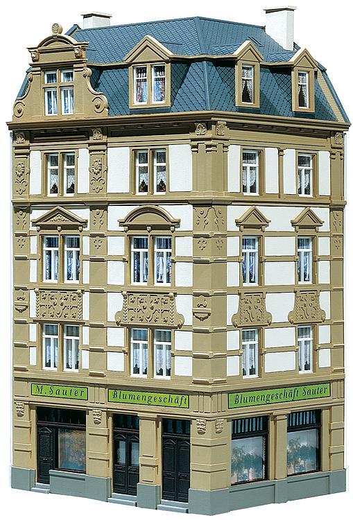 Faller H0 130916 Bausatz Stadt-Eckhaus Goethestrasse 62