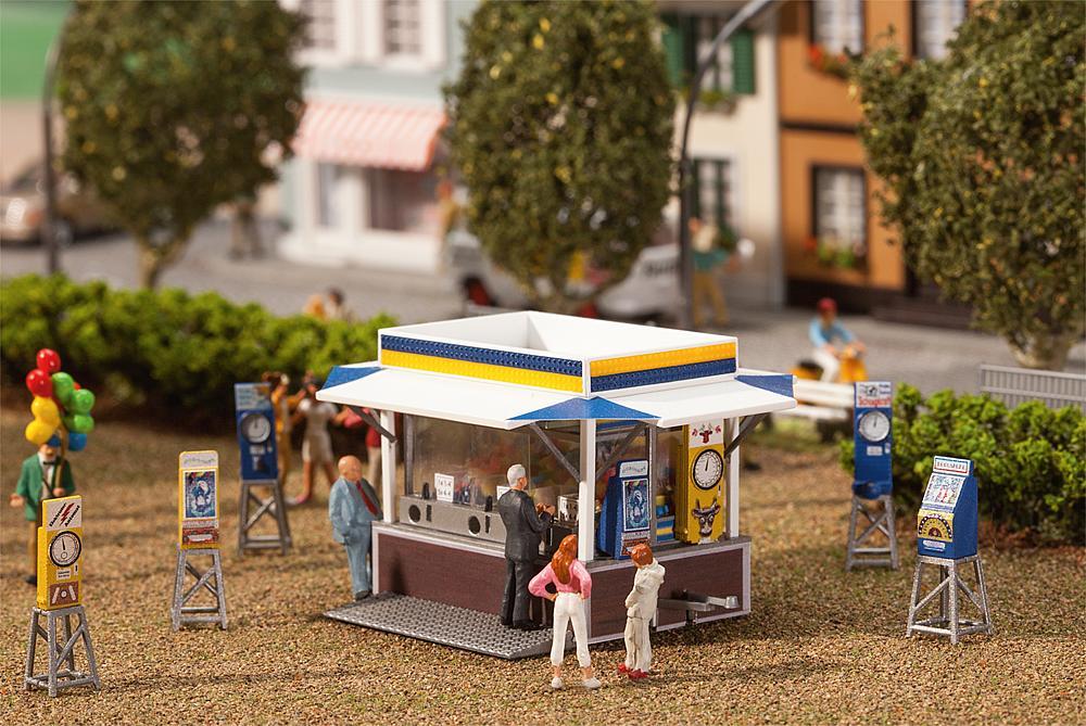 FALLER H0 140477 Bausatz Kirmesautomaten