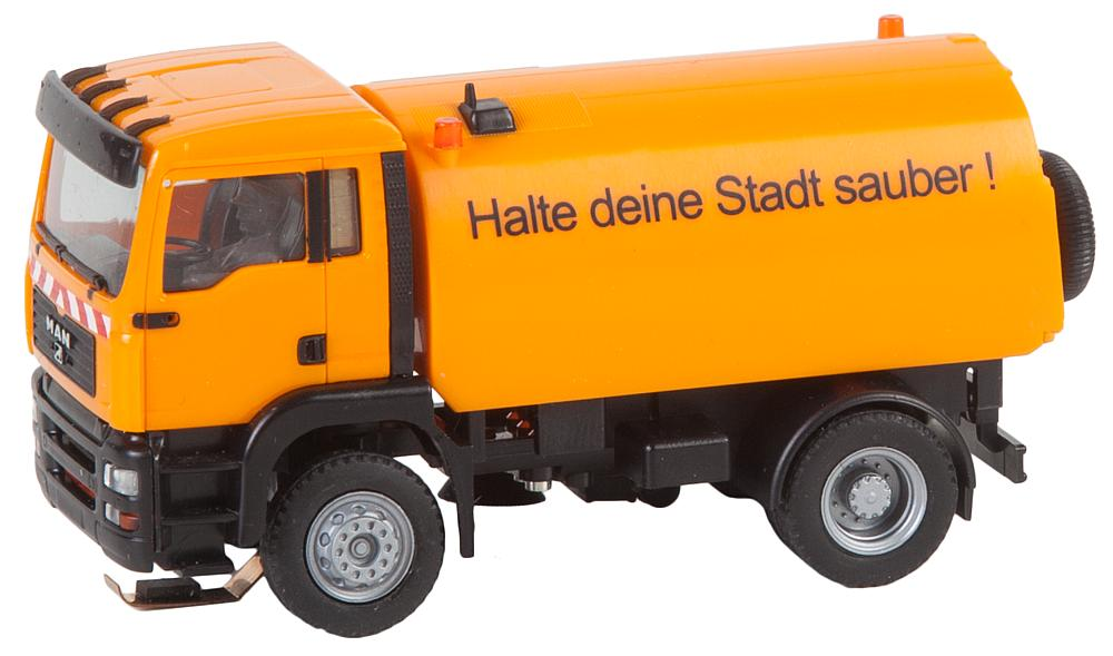 Faller 161482 H0 Car System LKW MAN TGA Straßenkehrmaschine