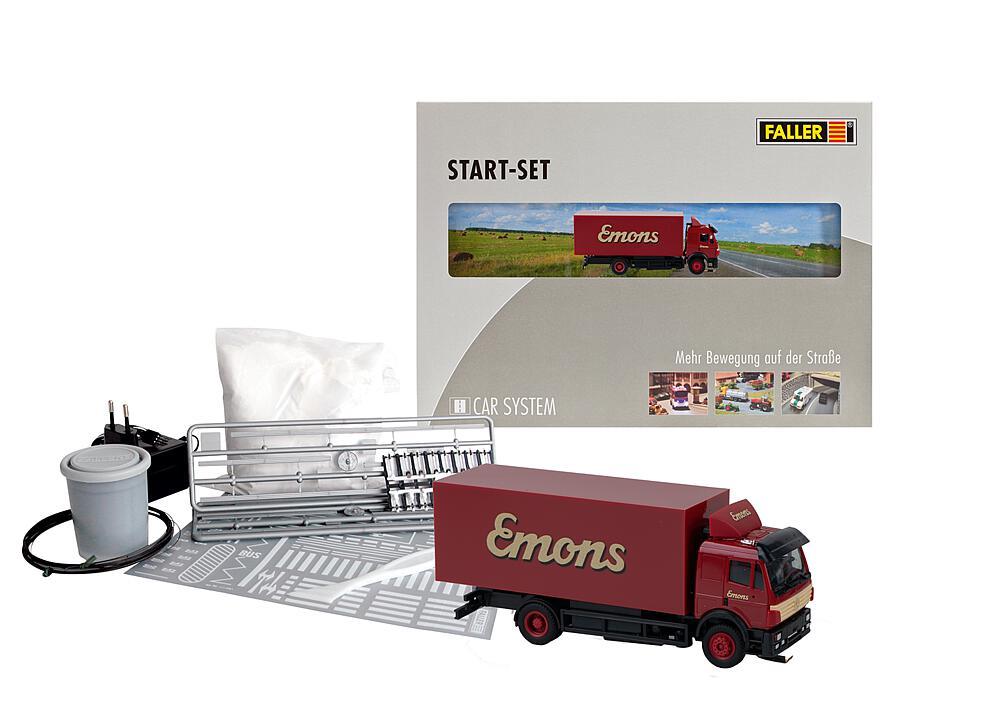 Faller 161487 H0  Car System Start-Set LKW MB SK Emons