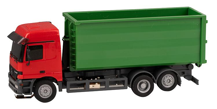 FALLER 161493 Car System LKW MB Actros LH 96 Abrollcontainer H0