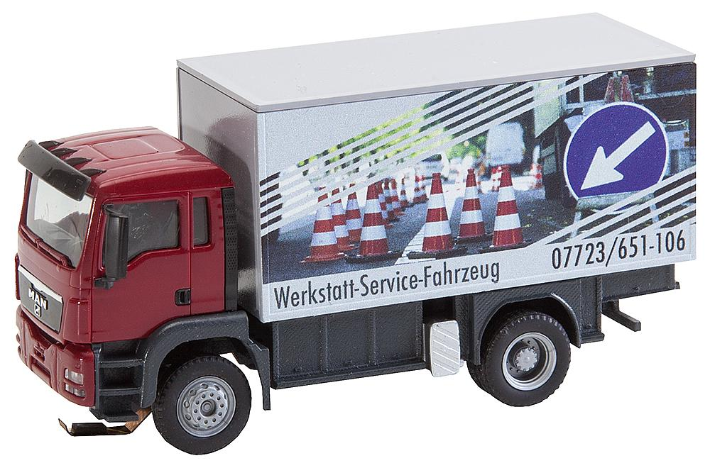 FALLER H0 161554 Car System MAN TGS Werkstattservicewagen