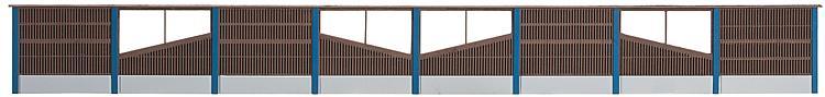 Faller 180422 Bausatz Lärmschutzwand Holz