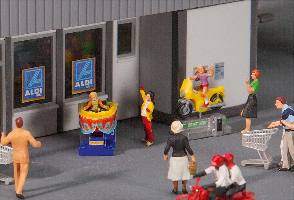 FALLER H0 180608 Bausatz Schaukelautomaten Kiddie Ride
