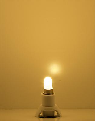 Faller 180660 Beleuchtungssockel LED, warm weiß
